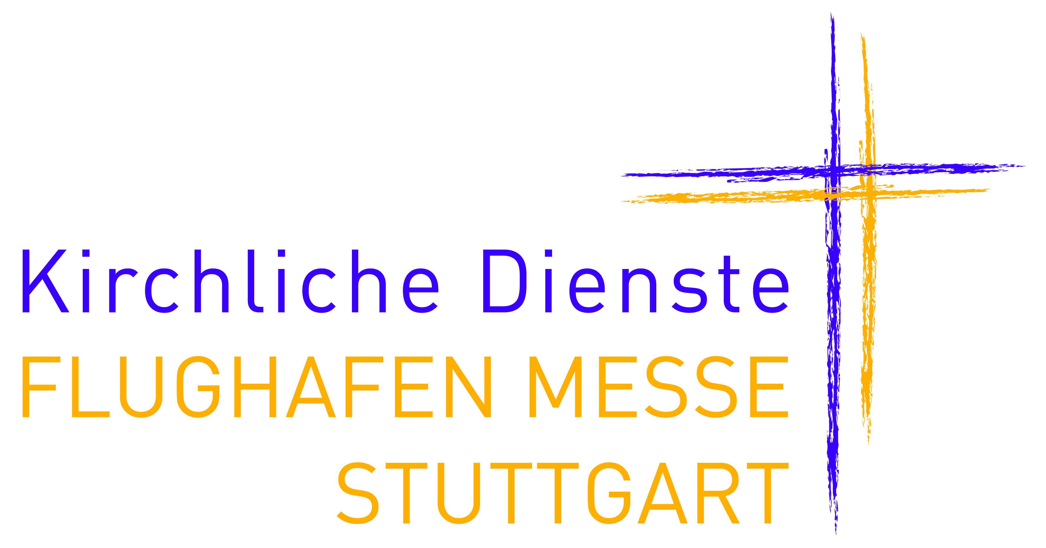 Logo Kirchliche Dienste auf dem Flughafen und der Messe